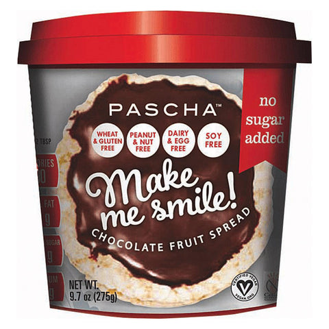 Pascha Make Me Smile! Fruit Spread - Chocolate - Case Of 6 - 9.7 Oz
