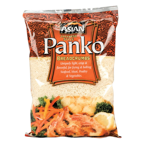 Asian Gourmet Bread Crumbs - Panko - Case Of 12 - 7.05 Oz