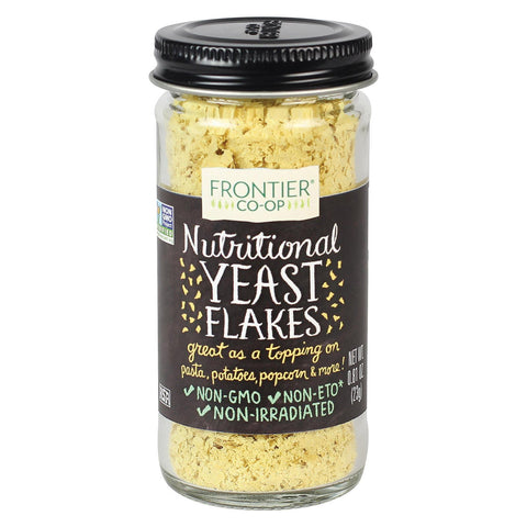 Frontier Natural Products Coop Nutritional Yeast Flakes - .81 Oz