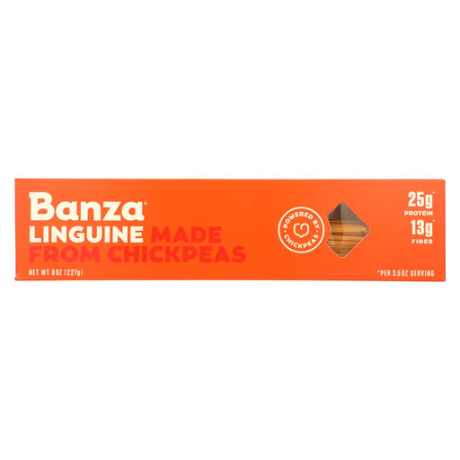 Banza - Chickpea Pasta - Linguine - Case Of 12 - 8 Oz.