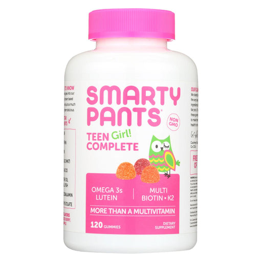 Smartypants Gummy Multivitamin -teen Girl Complete - 120