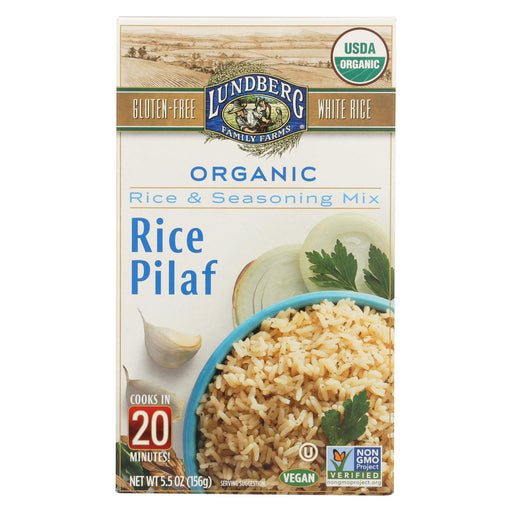 Lundberg Family Farms - Rice And Seasoning Mix - White Rice
