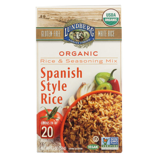 Lundberg Family Farms - Rice And Seasoning Mix - Spanish