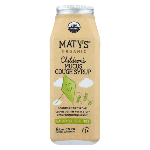 Maty's - Organic Children's Mucus Cough Syrup - 6 Fl Oz.