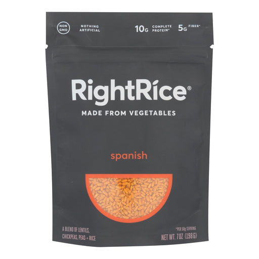 Right Rice - Made From Vegetables - Spanish - Case Of 6 - 7