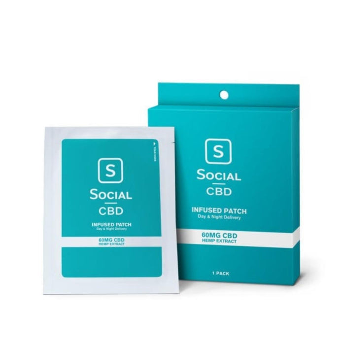 Select Cbd - Cbd Patch - 60 Mg 1 Pack - Case Of 12 - 1 Count