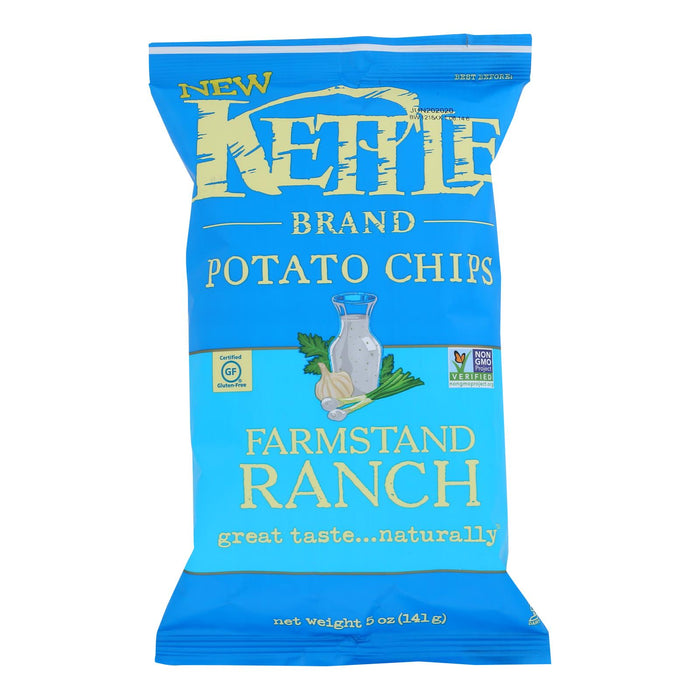 Kettle Brand - Chips Farmstand Ranch - Case Of 15 - 5 Oz