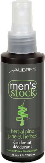 Men's Herbal Pine Deodorant 4 OZ