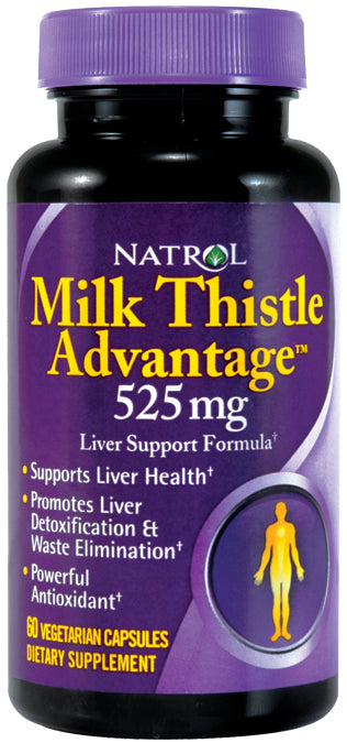Milk Thistle Advantage 60 CAP