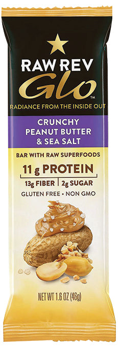 Crunchy Peanut Butter & Sea Salt 12-BOX