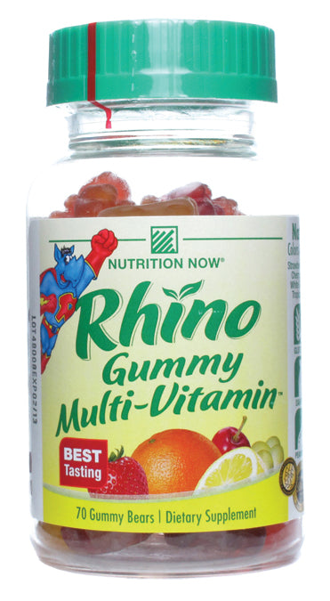 Rhino Gummy Bear Vitamins 70 CT