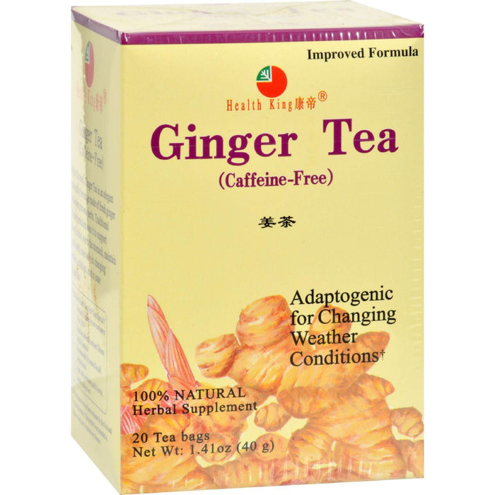 Ginger Tea  Caffeine Free 20 BAG
