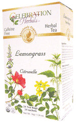 Lemongrass Tea Organic 24 BAG