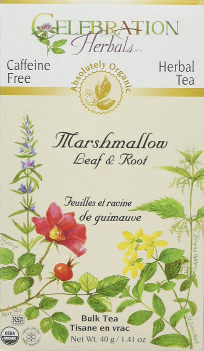 Marshmallow Leaf & Root Org 40 GM