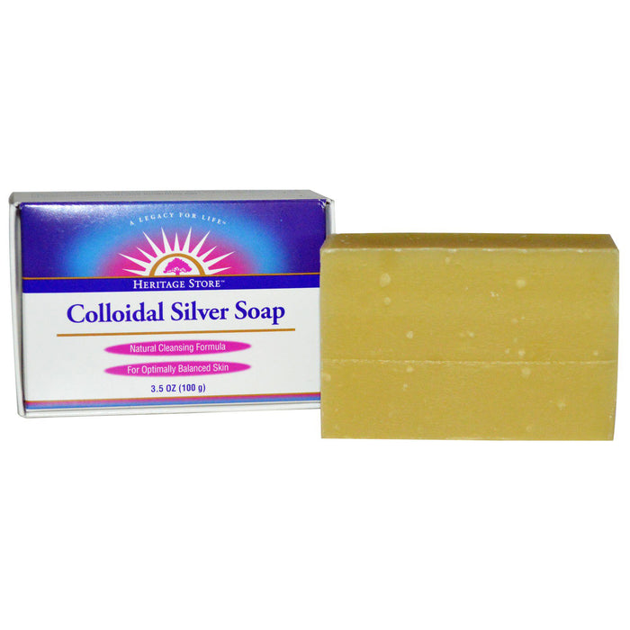 Colloidal Silver Bar Soap 3.5 OZ