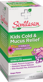 Kids Cold & Mucus Echinacea Syrup 4 OZ
