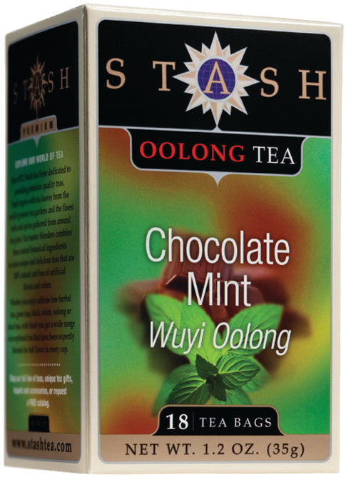 Oolong Chocolate Mint Tea 18 CT