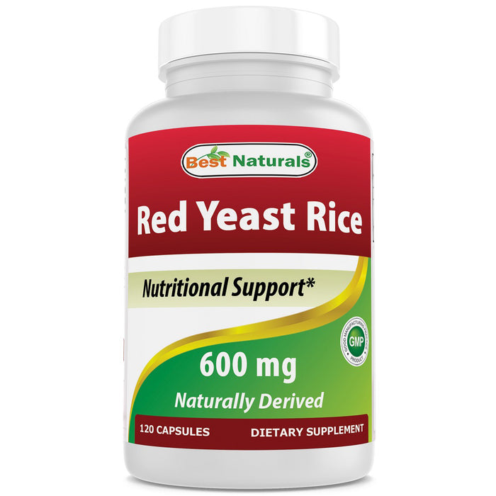 Red Yeast Rice 600 mg 120 CAP