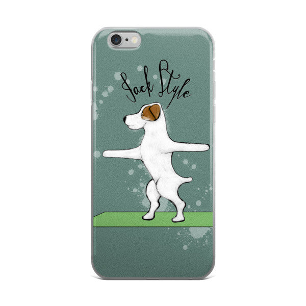 Warrior Jack iPhone 6/6s/Plus Case -  Phone Cases - 4 Paws Merch