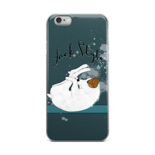 Happy Jack iPhone 6/6s/Plus Case -  Phone Cases - 4 Paws Merch
