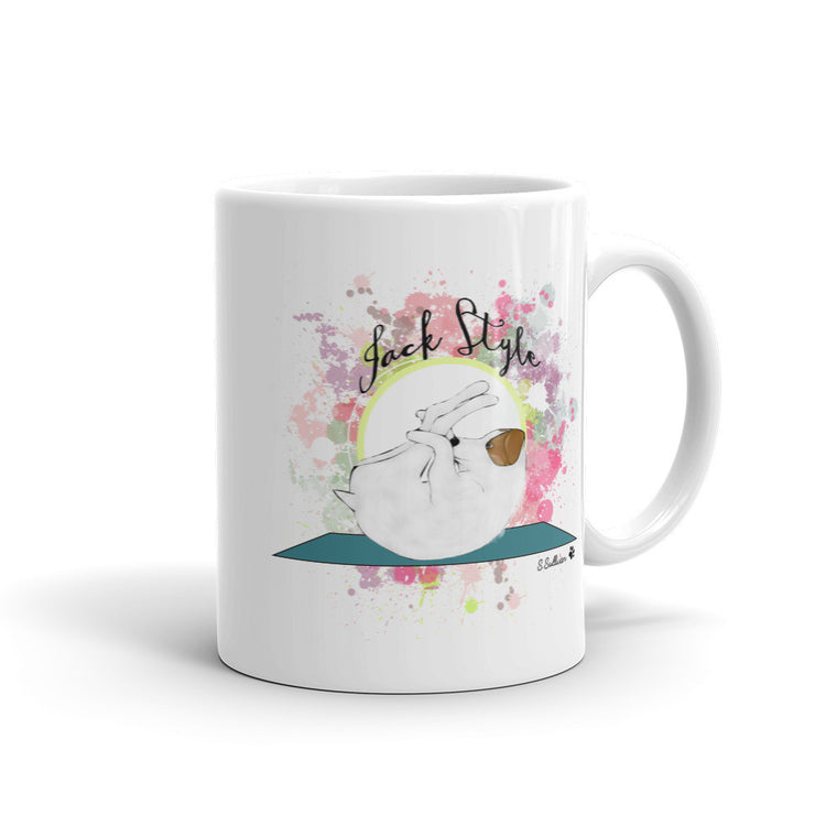 Happy Jack Mug -  Mugs - 4 Paws Merch