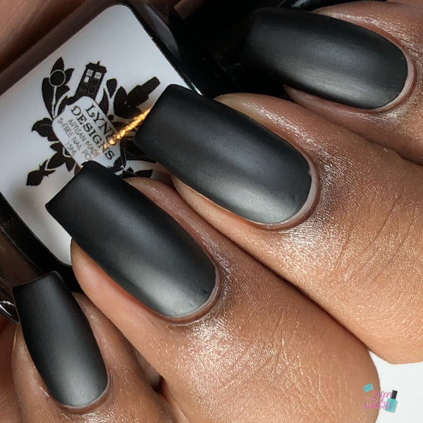 "Quoth the Raven from the ""Tonally Awesome"" Nail Polish Collection 15ml 5-Free"