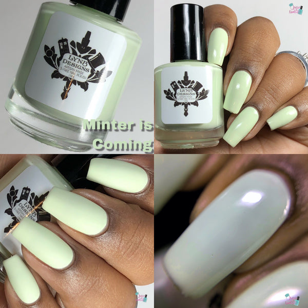 "Minter is Coming from the ""Tonally Awesome"" Nail Polish Collection 15ml 5-Free"