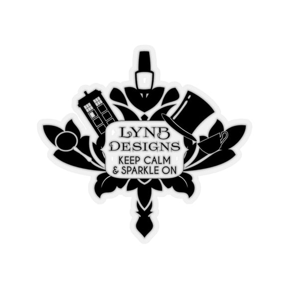 LynB Sparkle On Sticker