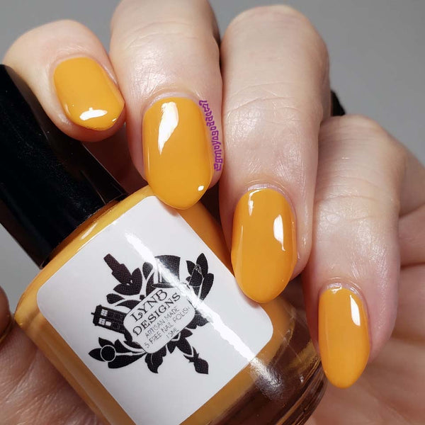 "Gamboge You Don't from the ""Tonally Awesome"" Nail Polish Collection 15ml 5-Free"