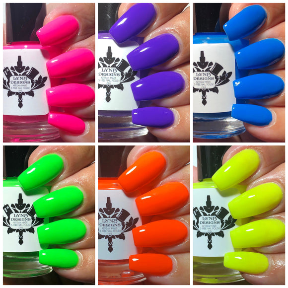 "The ""Tonally Awesome Neons"