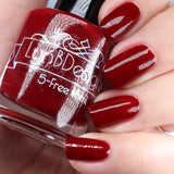 "Always Well Red from the ""Tonally Awesome"" Nail Polish Collection 15ml 5-Free"