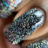 "Galaxy at Your Fingertips from the ""Out of This World"" Nail Polish Collection 15ml 5-Free"