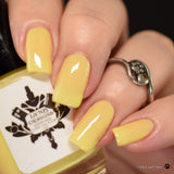 "Yellow Is It Me You're Looking For from the ""Tonally Awesome"" Nail Polish Collection 15ml 5-Free"