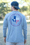 Hunt Texas Circle - Gray