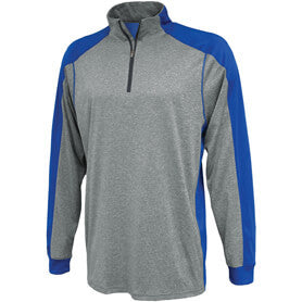 Proviso East HS Track Pennant Sportswear 1126 Carbon Warmup Shirt with Personalization