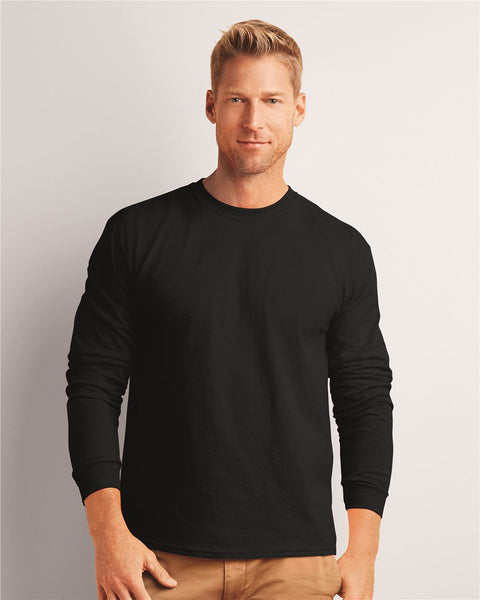 ~~ Gildan 2400/2400B 100% cotton long-sleeve T-shirt