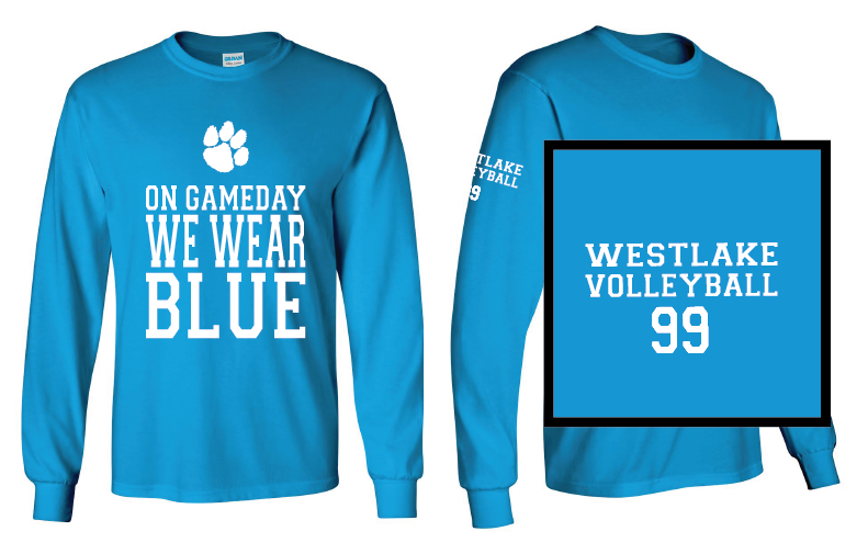 Westlake MS Girls Volleyball shirt