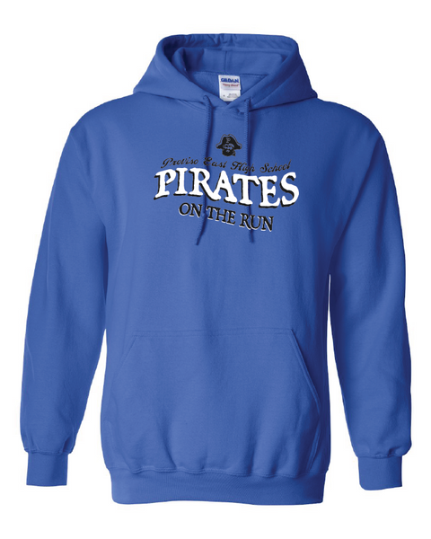 Proviso East Cross Country - Gildan 18500 Heavy Blend Pullover Hooded Sweatshirt