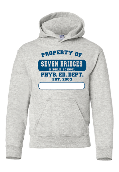 Seven Bridges MS Physical Education Hooded Sweatshirt