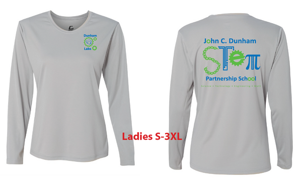 JCD STEM Performance Long-Sleeve T-shirt for kids and adults
