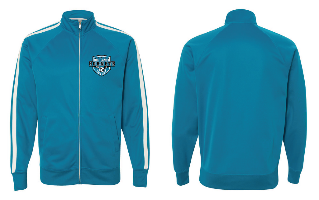 Highlands MS Soccer Unisex Poly-Tech Full-Zip Track Jacket