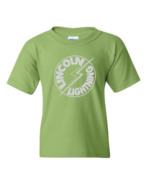 Lincoln Lightning T-Shirt for Kids, Men, and Ladies