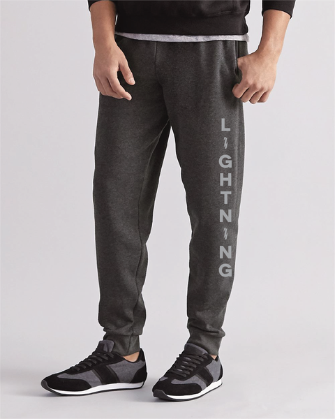 Lincoln Lightning Jogger Pants with Reflective Lettering