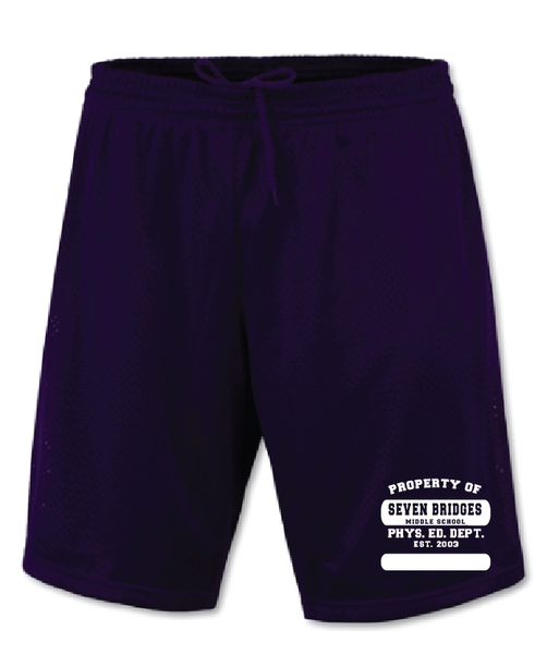 Seven Bridges MS Physical Education Shorts