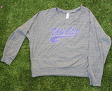 Flashdance Style Bling Sweatshirt-Junior