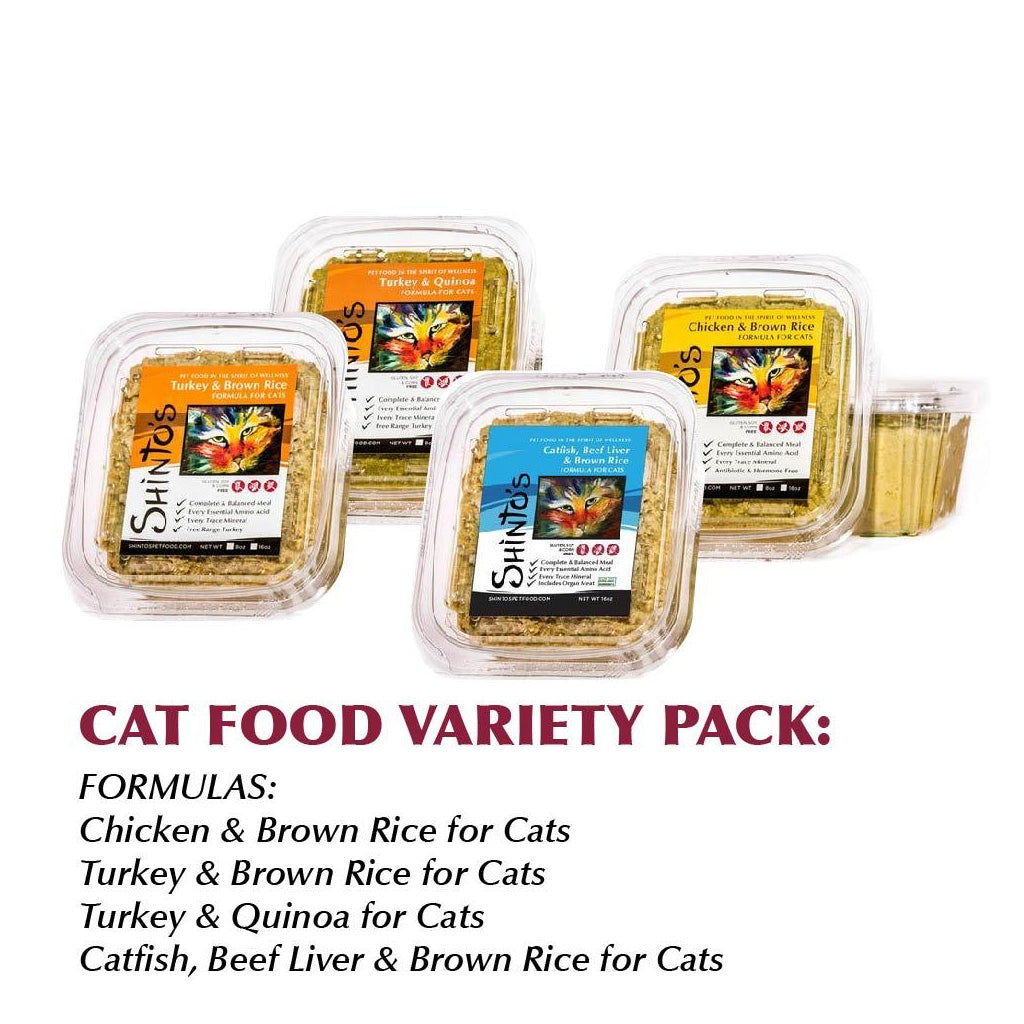 Variety Pack WET Formula for Cats
