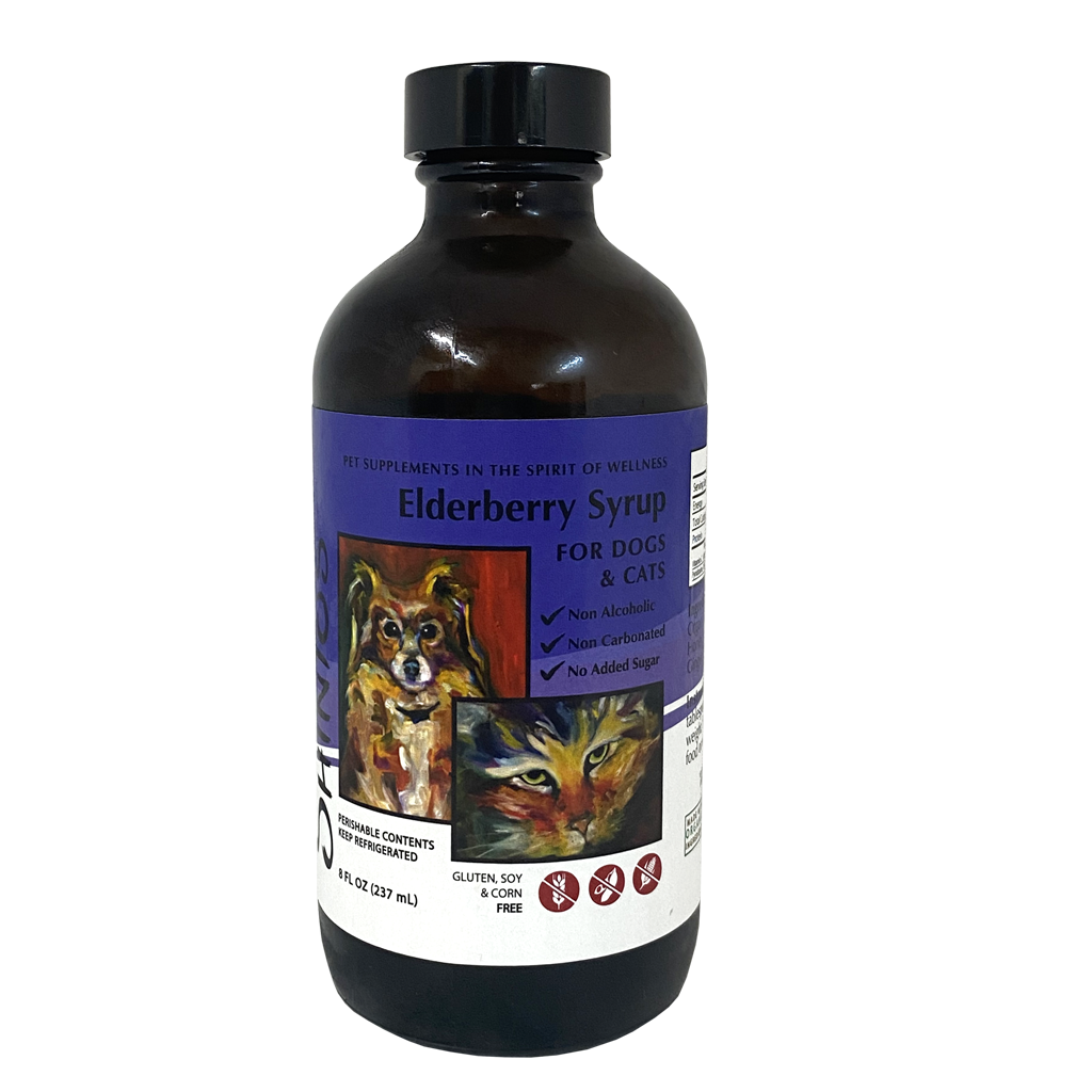 Elderberry Syrup for Dogs & Cats