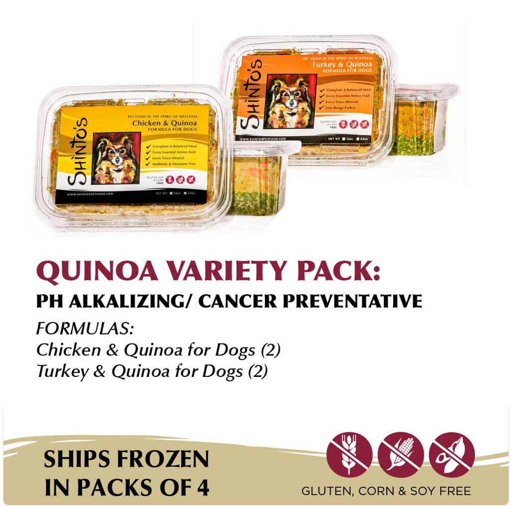 Quinoa Variety Pack WET Formula for Dogs