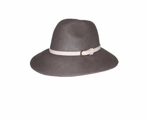 Faux Wool Fedora Style Hat - The 24 Faubourg