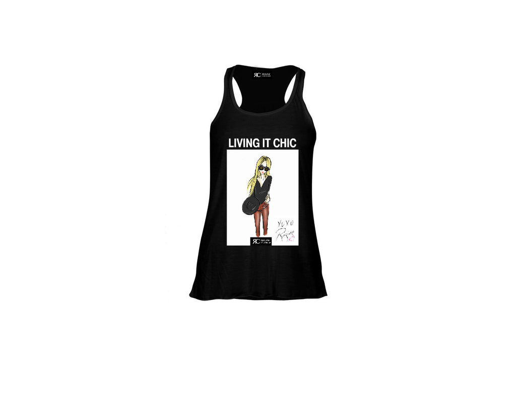 Black Tank Top - Living It Chic